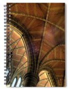 Christ Church Cathedral Roof Detail Spiral Notebook