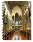 Christ Church Cathedral Victoria British Columbia Spiral Notebook