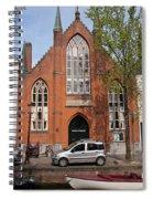 Christ Church Of England In Amsterdam Spiral Notebook