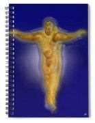Christ Caramel And Honey Spiral Notebook