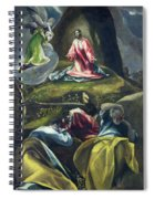 Christ In The Garden Of Olives Spiral Notebook