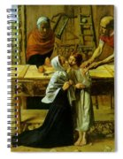 Christ In The House Of His Parents Spiral Notebook