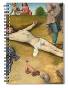 Christ Nailed To The Cross Spiral Notebook
