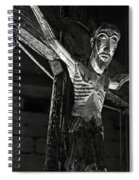 Christ Of Salardu - Bw Spiral Notebook