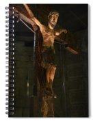 Christ Of Salardu Spiral Notebook
