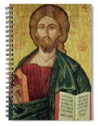 Christ Pantocrator Spiral Notebook