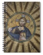 Christ Pantocrator Surrounded By The Prophets Of The Old Testament 1 Spiral Notebook
