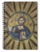 Christ Pantocrator Surrounded By The Prophets Of The Old Testament 2 Spiral Notebook