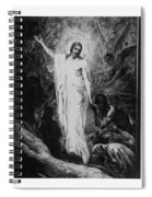 Christ Preaching To The Spirits In Prison C. 1910 Spiral Notebook