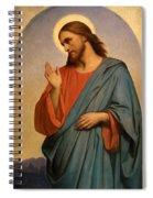 Christ Weeping Over Jerusalem Ary Scheffer Spiral Notebook