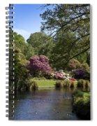Christchurch Botanic Gardens New Zealand Spiral Notebook