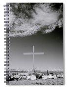 Christian Grave Spiral Notebook