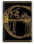 Christian Initial Letter E Spiral Notebook
