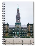 Christiansborg Slot Spiral Notebook