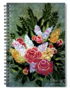 Christina's Bouquet Spiral Notebook