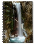 Christine Falls Spiral Notebook