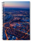 Christmas At Frankfurt Am Main Spiral Notebook