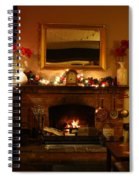 Christmas At The Pub Spiral Notebook