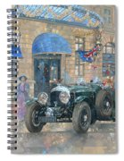 Christmas At The Ritz Spiral Notebook