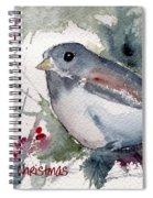 Christmas Birds 01 Spiral Notebook