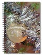 Christmas Bling Spiral Notebook