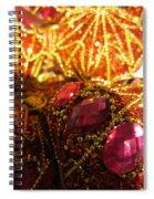 Christmas Blingbling Spiral Notebook