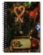 Christmas Bokeh 3 Spiral Notebook
