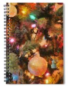 Christmas Branches Spiral Notebook