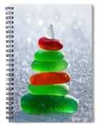 Christmas By The Sea Spiral Notebook