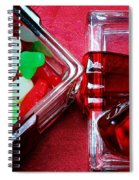 Christmas Candy - Candy Dish - Sweets - Treats Spiral Notebook