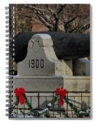 Christmas Cannon Spiral Notebook