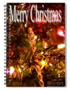 Christmas Card 1 Spiral Notebook