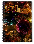 Christmas Card 3 Spiral Notebook