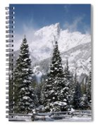 Christmas Card Perfect Spiral Notebook