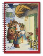Christmas Carols Spiral Notebook