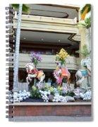 Christmas Carousel Animals Spiral Notebook
