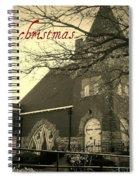 Christmas Chapel Spiral Notebook