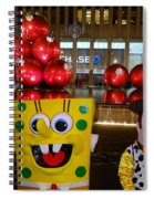 Christmas Characters Spiral Notebook