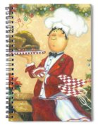 Christmas Chef Spiral Notebook