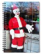 Christmas Clown Spiral Notebook