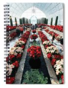 Christmas Color Spiral Notebook