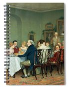 Christmas Comes But Once A Year Spiral Notebook
