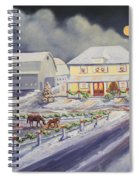 Christmas Corral Spiral Notebook