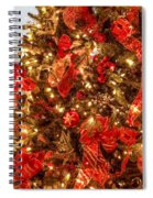 Christmas Dazzle Spiral Notebook