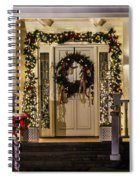 Christmas Door 1 Spiral Notebook
