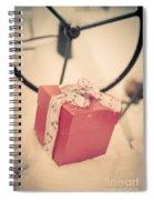 Christmas Down On The Farm Spiral Notebook