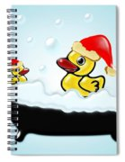Christmas Ducks Spiral Notebook