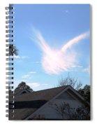 Christmas Eve Angels 2010 Spiral Notebook