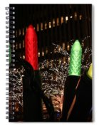 Christmas Festive In New York City Spiral Notebook
