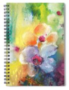 Christmas Flowers For Mom 01 Spiral Notebook